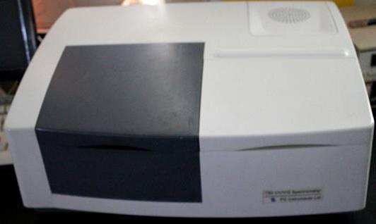 Uv –visible spectrophotometer جهاز التحليل الطيفى
